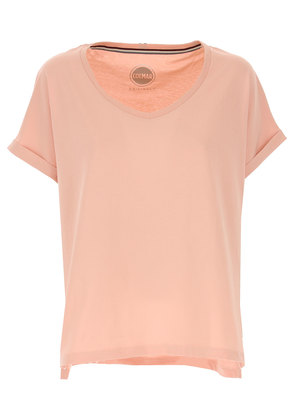 Colmar T-Shirt for Women, Vintage Pink, Cotton, 2017, 10 12 14 8