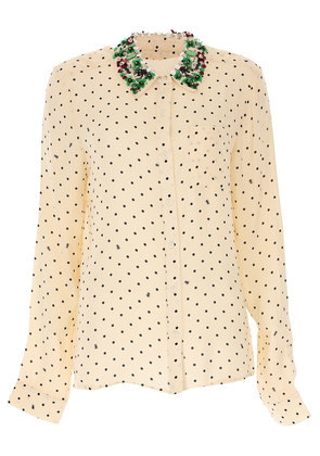 ESSENTIEL Antwerp Top for Women, Ivory, viscosa, 2017, 10 6 8