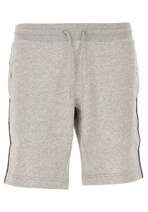 Moncler Shorts for Men, Grey, Cotton, 2017, L XL