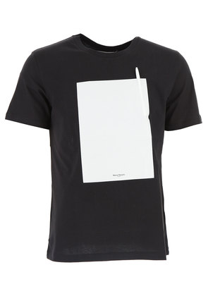 Maison Martin Margiela T-Shirt for Men, Black, Cotton, 2017, L M S