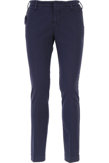 Pants for Men On Sale, Navy Blue, Cotton, 2017, 36 Entre Amis