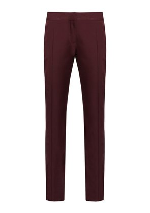 Anna slim-leg wool trousers
