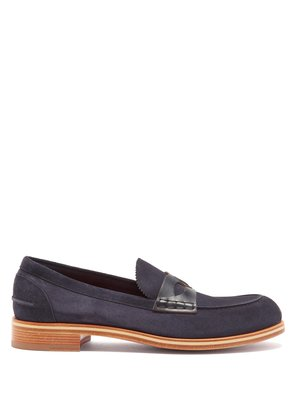 Montezumolle suede penny loafers