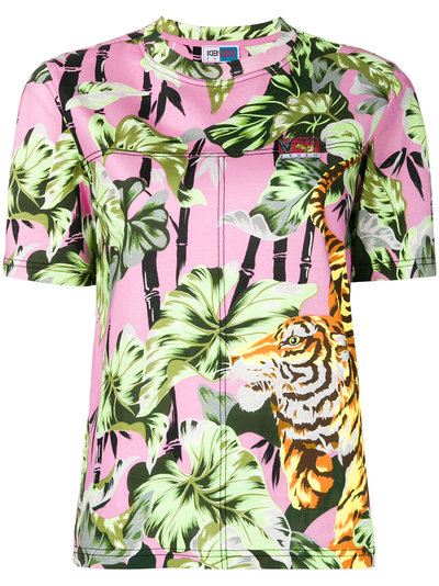 5ce9ec3a60 Kenzo Bamboo Tiger T-shirt | Multicolour | MILANSTYLE.COM