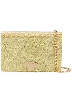 Michael Michael Kors Barbara envelope clutch - Metallic