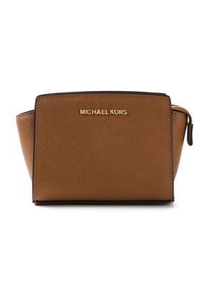 Michael Michael Kors mini 'Selma' crossbody bag - Brown