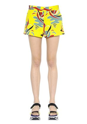 CARIOCA PRINTED COTTON DRILL SHORTS