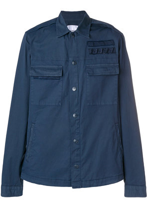 Dondup classic fitted jacket - Blue