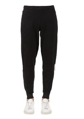 SLIM FIT FRENCH TERRY COTTON SWEATPANTS