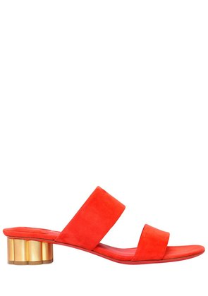 30MM BELLUNO SUEDE SANDALS