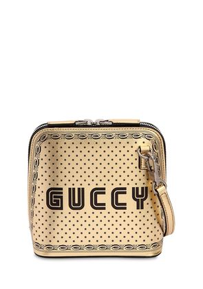 GUCCY & STARS METALLIC FAUX LEATHER BAG
