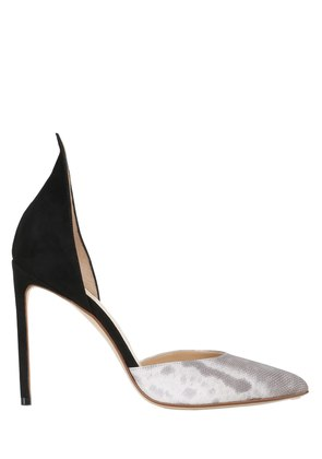 105MM KARUNG & SUEDE D'ORSAY PUMPS