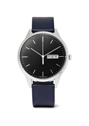 C40 Stainless Steel And Rubber Watch