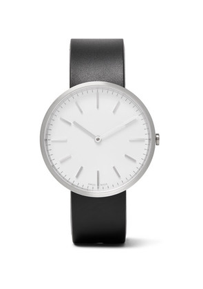 M37 Brushed Stainless Steel And Rubber Watch