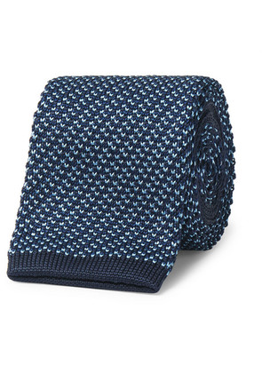6.5cm Knitted Mulberry Silk Tie