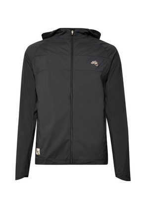 Waite Water-repellent Stretch-shell Hooded Jacket