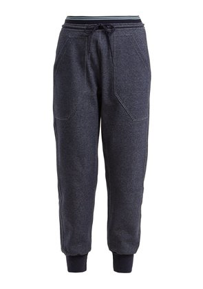 Synergy cotton-blend track pants