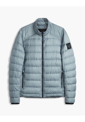 Belstaff Ryegate Quilted Down Jacket Blue