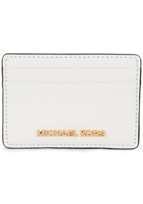 Michael Michael Kors Jet Set Travel cardholder - White