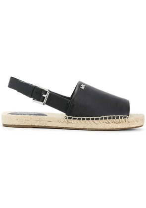 Michael Michael Kors Fisher sling-back espadrilles - Black