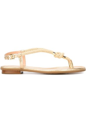 Michael Michael Kors rope sandals - Nude & Neutrals