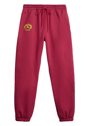 Burberry Embroidered logo jersey sweatpants