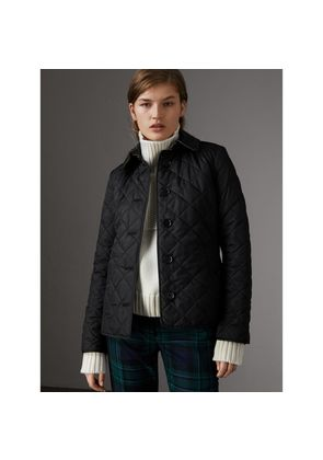 Burberry Diamond Quilted Jacket, Black