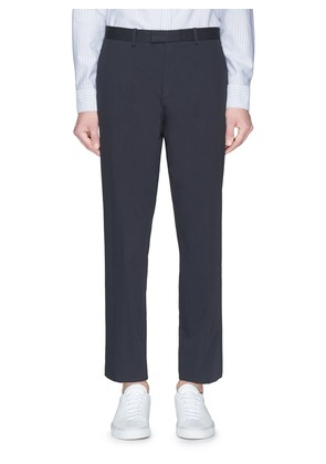 'Marlo' straight leg twill pants