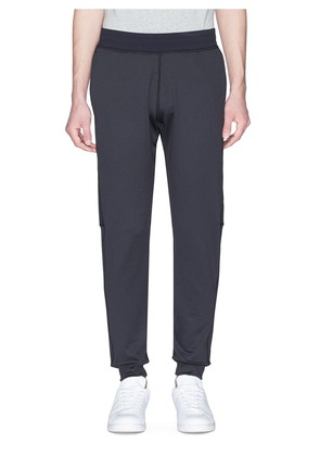 Panelled performance jogging pants