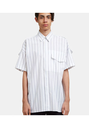 Striped Intoxication Short Sleeve Shirt