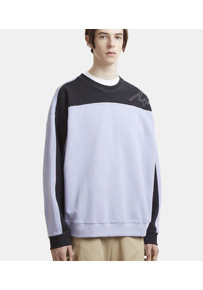 Collapsed Crew Neck Sweatshirt