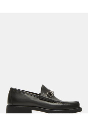 Vegas Horsebit Leather Loafers