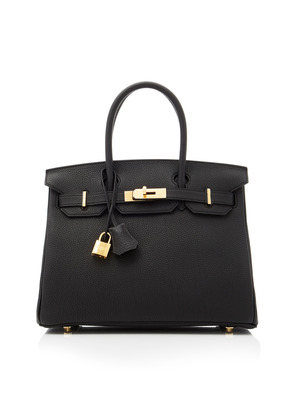 Heritage Auctions Special Collection Hermes 30cm Black Togo Leather Birkin
