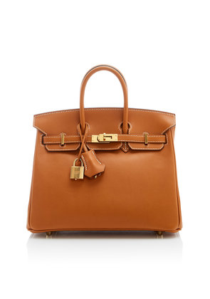 Heritage Auctions Special Collections Hermès 25cm Toffee Swift Leather Birkin