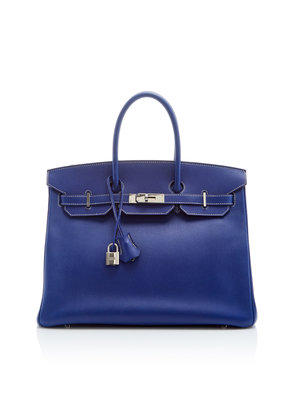 Heritage Auctions Special Collections Hermès 35cm Blue Electric and Mykonos Epsom Leather Candy Collection Birkin