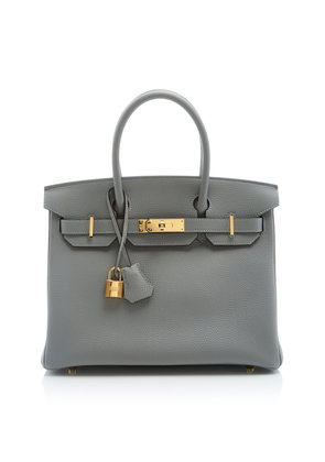 Heritage Auctions Special Collections Hermès 30cm Gris Mouette Togo Leather Birkin