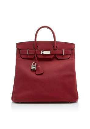 Heritage Auctions Special Collections Hermès 40cm Rouge Grenat Togo Leather HAC Birkin