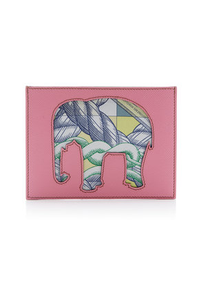 Heritage Auctions Special Collections Hermès Petit H Rose Confetti and Anemone Epsom Leather Pochette