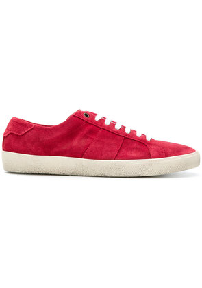 Saint Laurent lace-up sneakers - Red