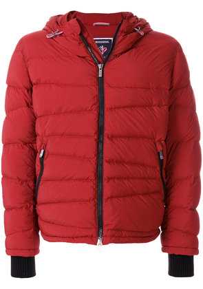 Rossignol hooded padded coat - Red