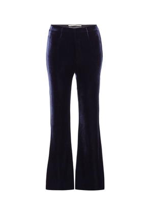 Exclusive to mytheresa.com - Connor velvet and crêpe trousers