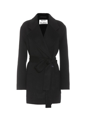 Anika Doublé wool and cashmere coat