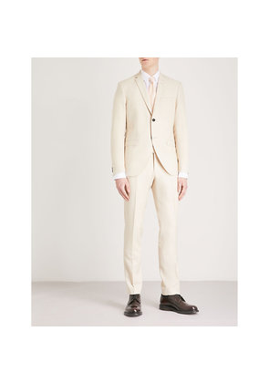 Jil 8 slim-fit wool linen and silk-blend suit