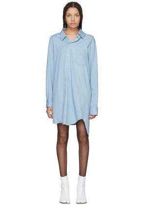 Junya Watanabe Blue Denim Shirt Dress