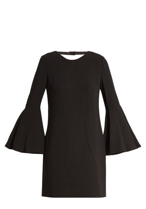Aurora fluted-sleeve dress