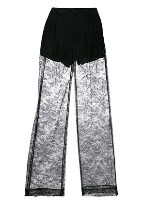 Givenchy lace flared trousers - Black