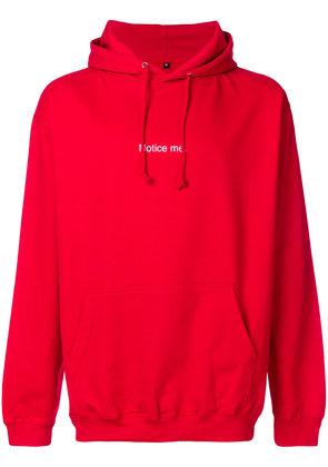 F.A.M.T. Notice Me hoodie - Red