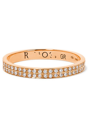 Repossi - Berbère 18-karat Rose Gold Diamond Ring - 55
