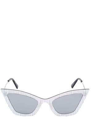 KARDO LENS ON LENS CAT-EYE SUNGLASSES