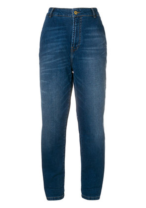 Essentiel Antwerp high rise cropped jeans - Blue